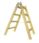 Rebrík a muž